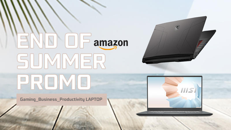 MSI END OF SUMMER PROMO: tante offerte sui laptop