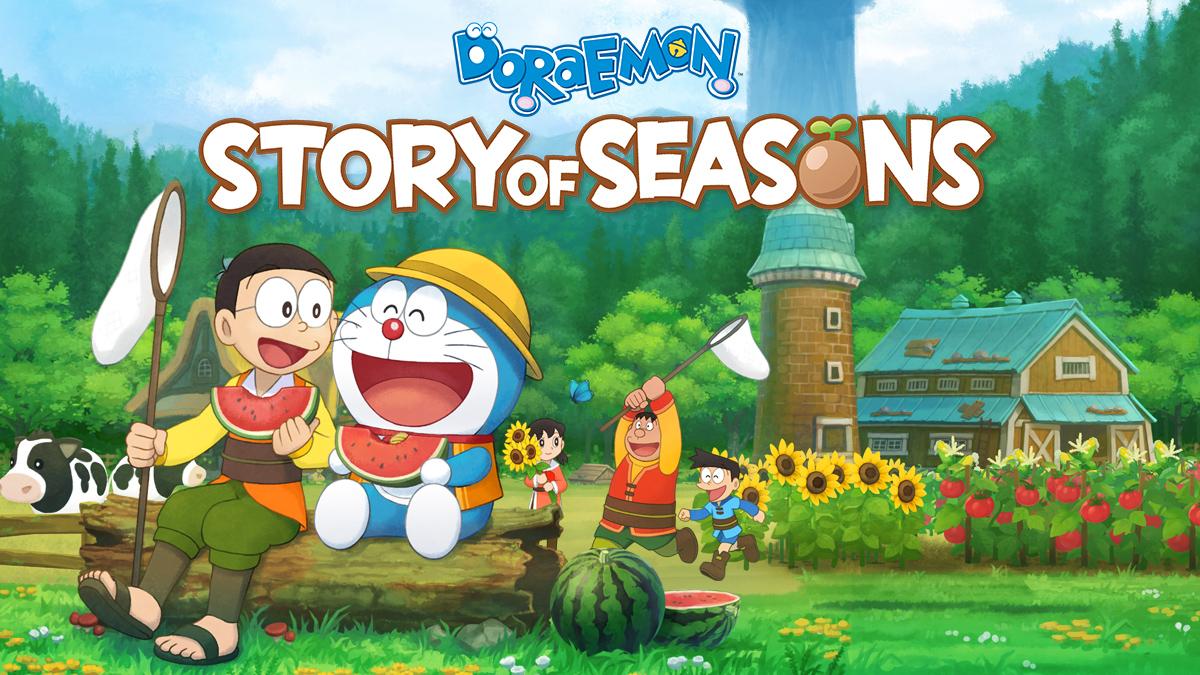 Doraemon story of seasons disponibile per ps4