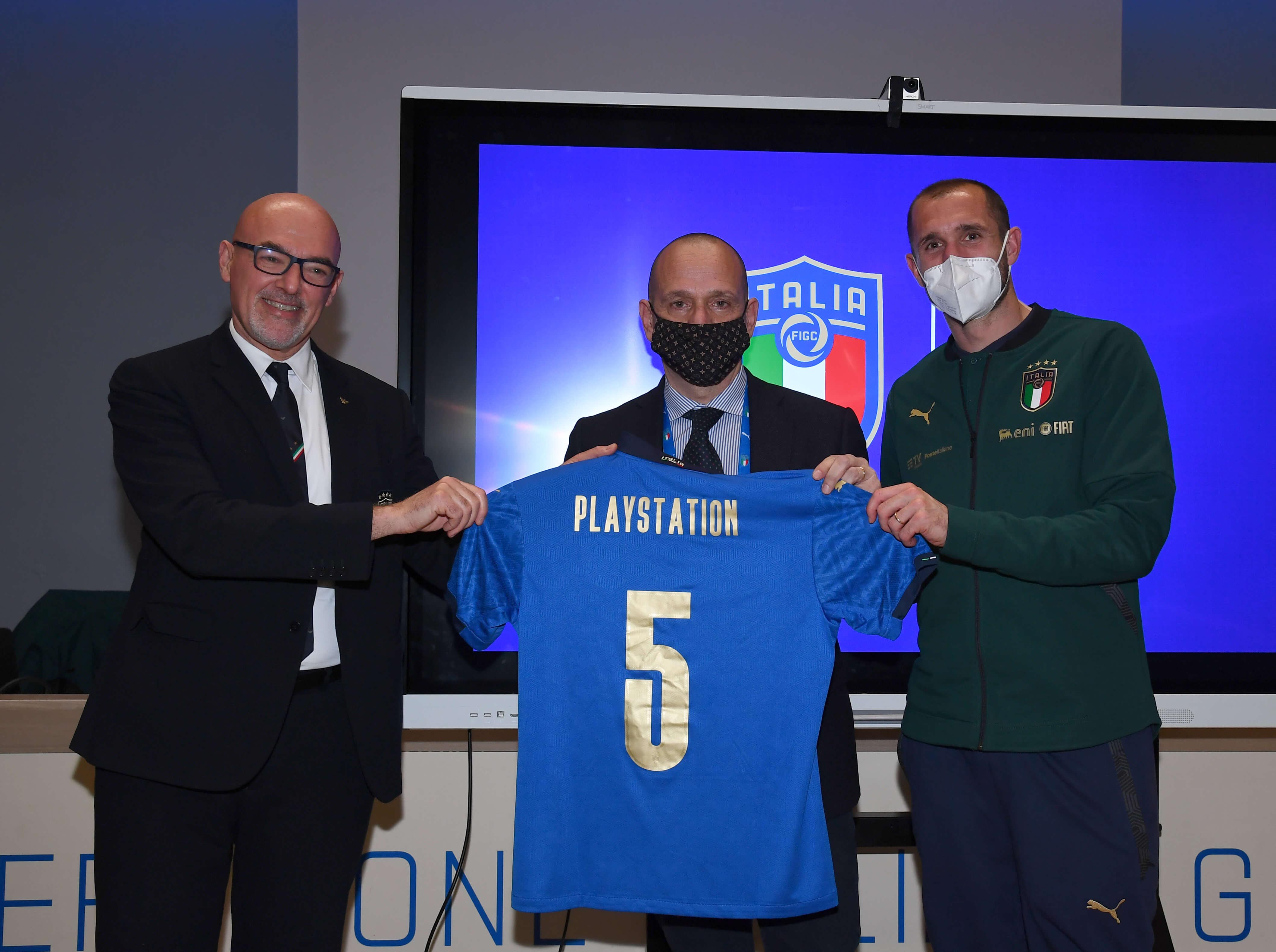 PlayStation partner della Nazionale Italiana di calcio