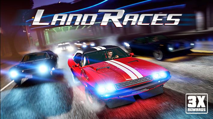 GTA Online: ricompense triple nelle gare terrestri