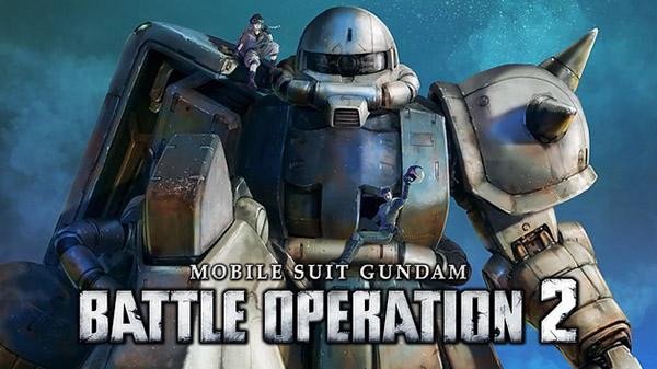 MOBILE SUIT GUNDAM BATTLE OPERATION 2, DISPONIBILE PER PS5