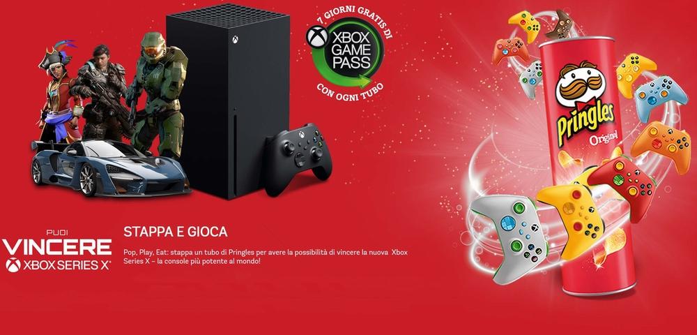 Pringles collabora con Xbox
