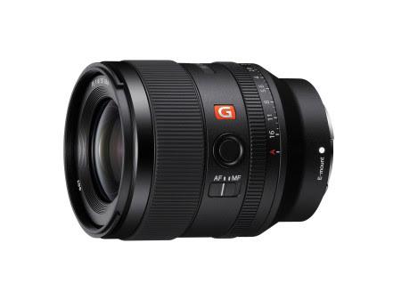Sony presenta l'ultimo nato della serie di obiettivi G Master full-frame, FE 35mm F1.4 GM