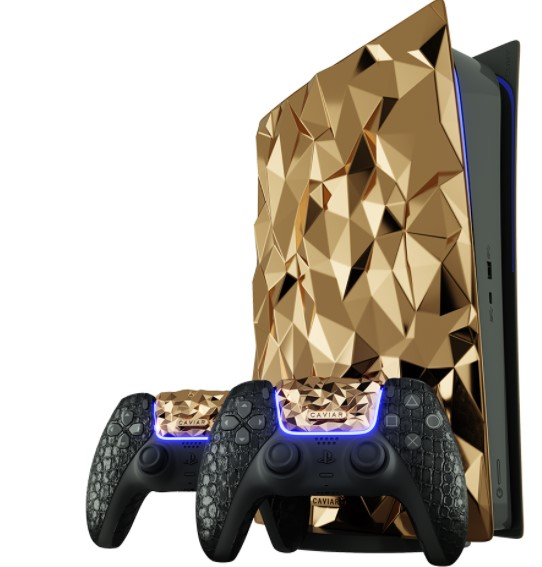 La PS5 Golden Rock la console ricoperta da 20 Kg d