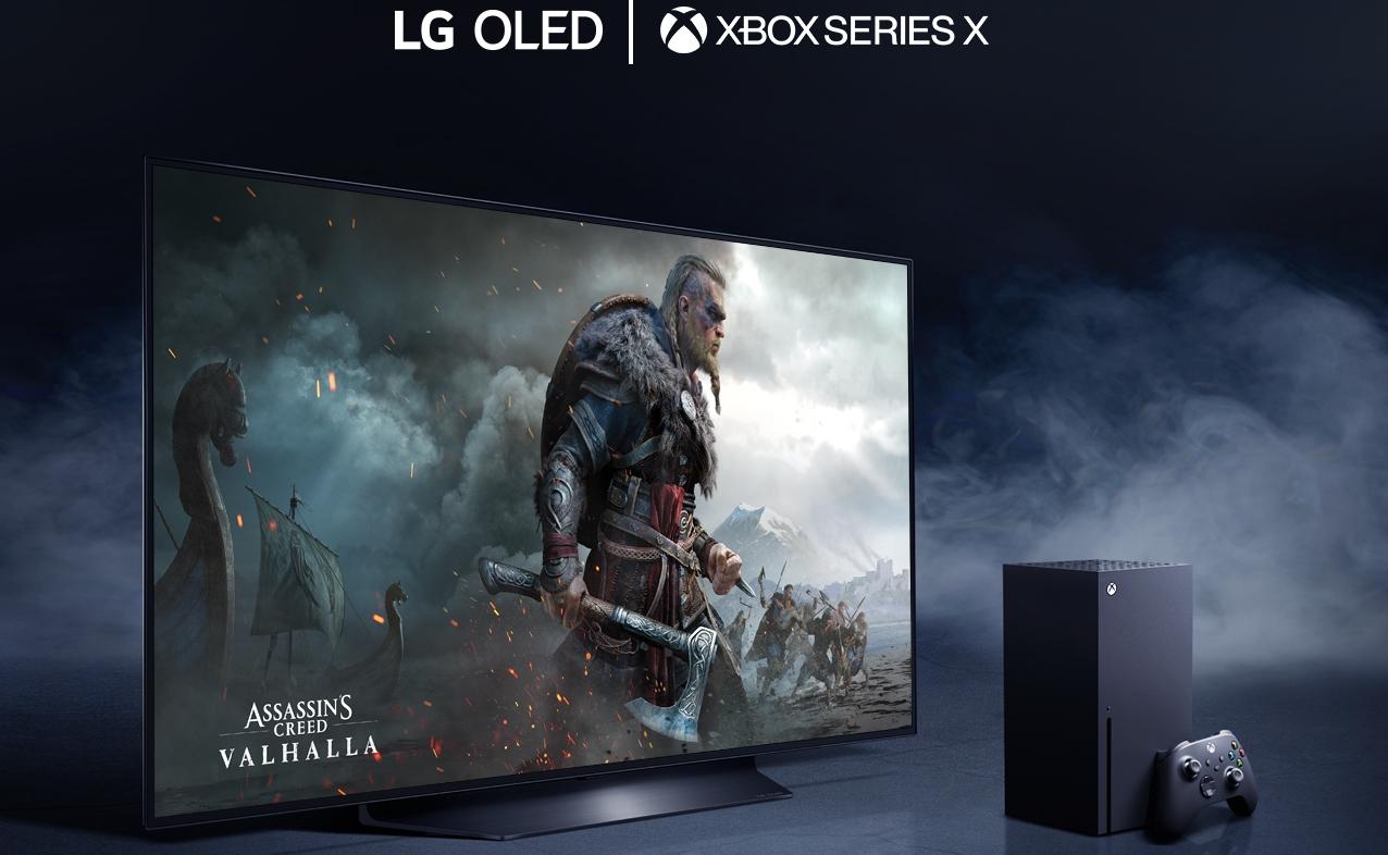 LG OLED TV E XBOX SERIE X INSIEME PER LA NEX-GEN