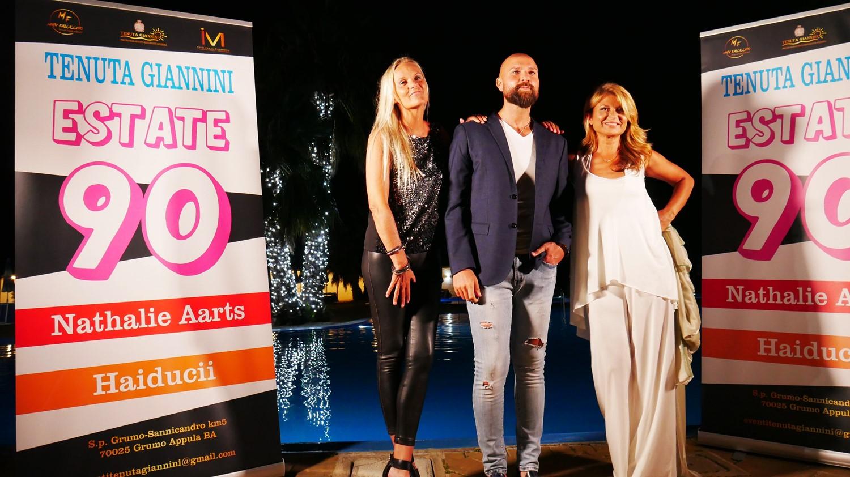Nathalie Aarts e Haiducii infiammano la Tenuta Giannini: show musicali entusiasmanti a Ferragosto