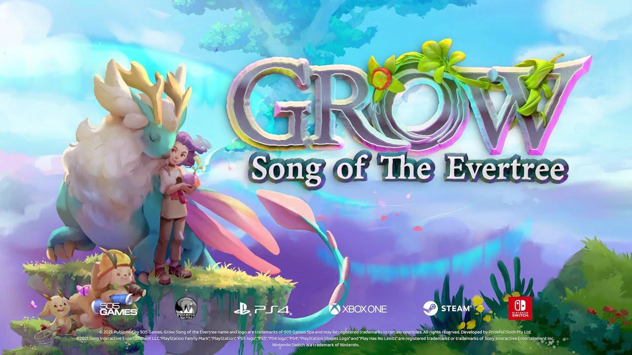GROW: Song of The Evertree - annunciato un nuovo titolo di avventura sandbox