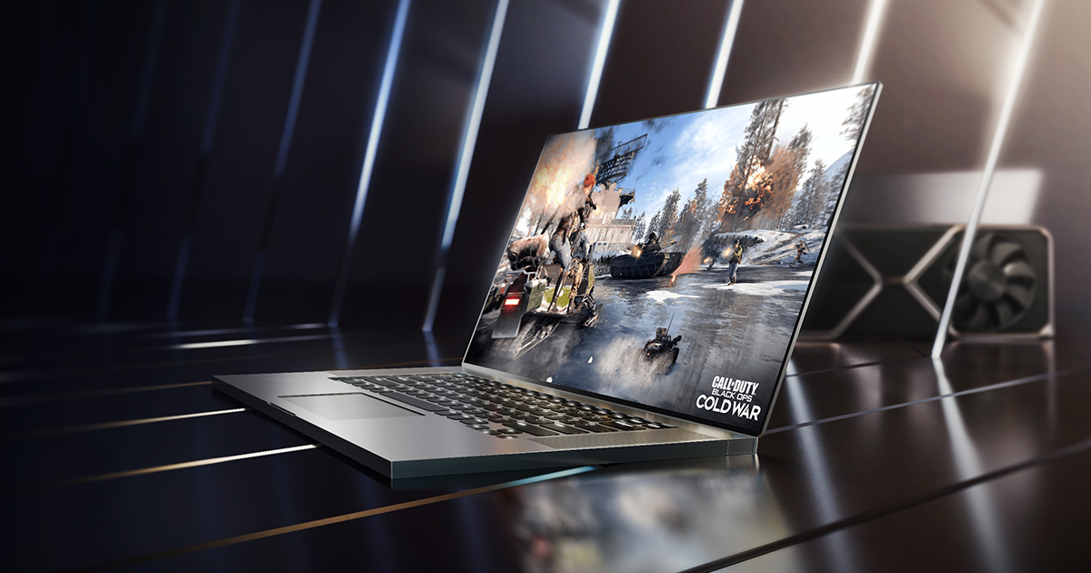 NVIDIA con la RTX 30 trasforma i laptop Mainstream in device da gaming