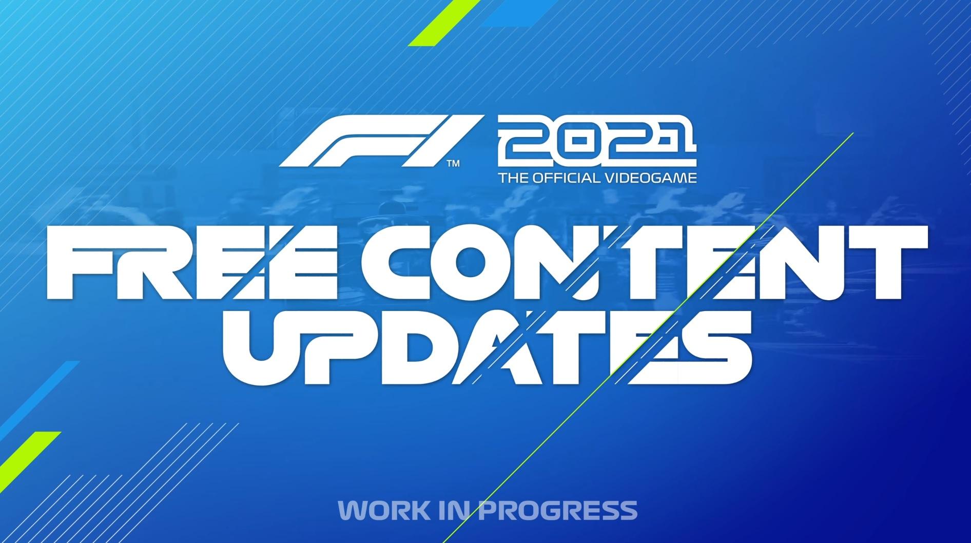 F1 2021 Free Content Updates Trailer