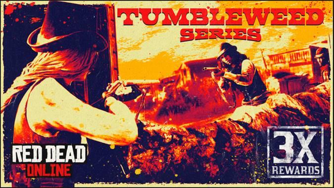 Red Dead Online: RDO$ e Oro Tripli nella serie di Tumbleweed