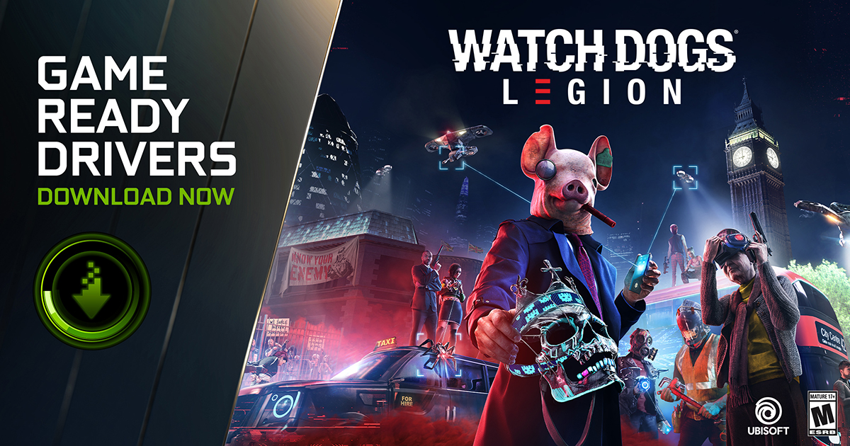 GeForce NOW: Game Ready per Watch Dogs: Legion