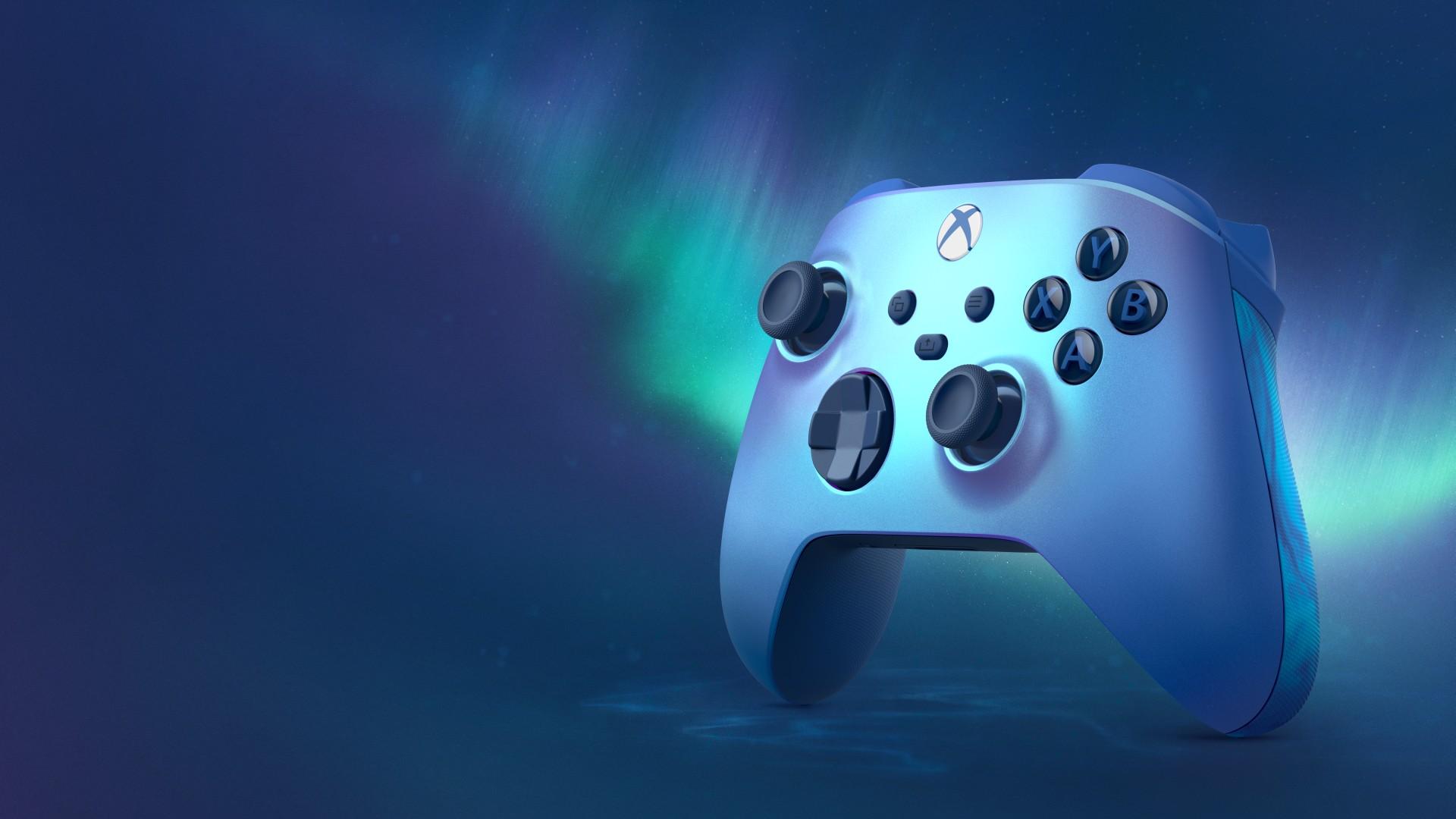Presentato il nuovo Controller Wireless per Xbox – Aqua Shift