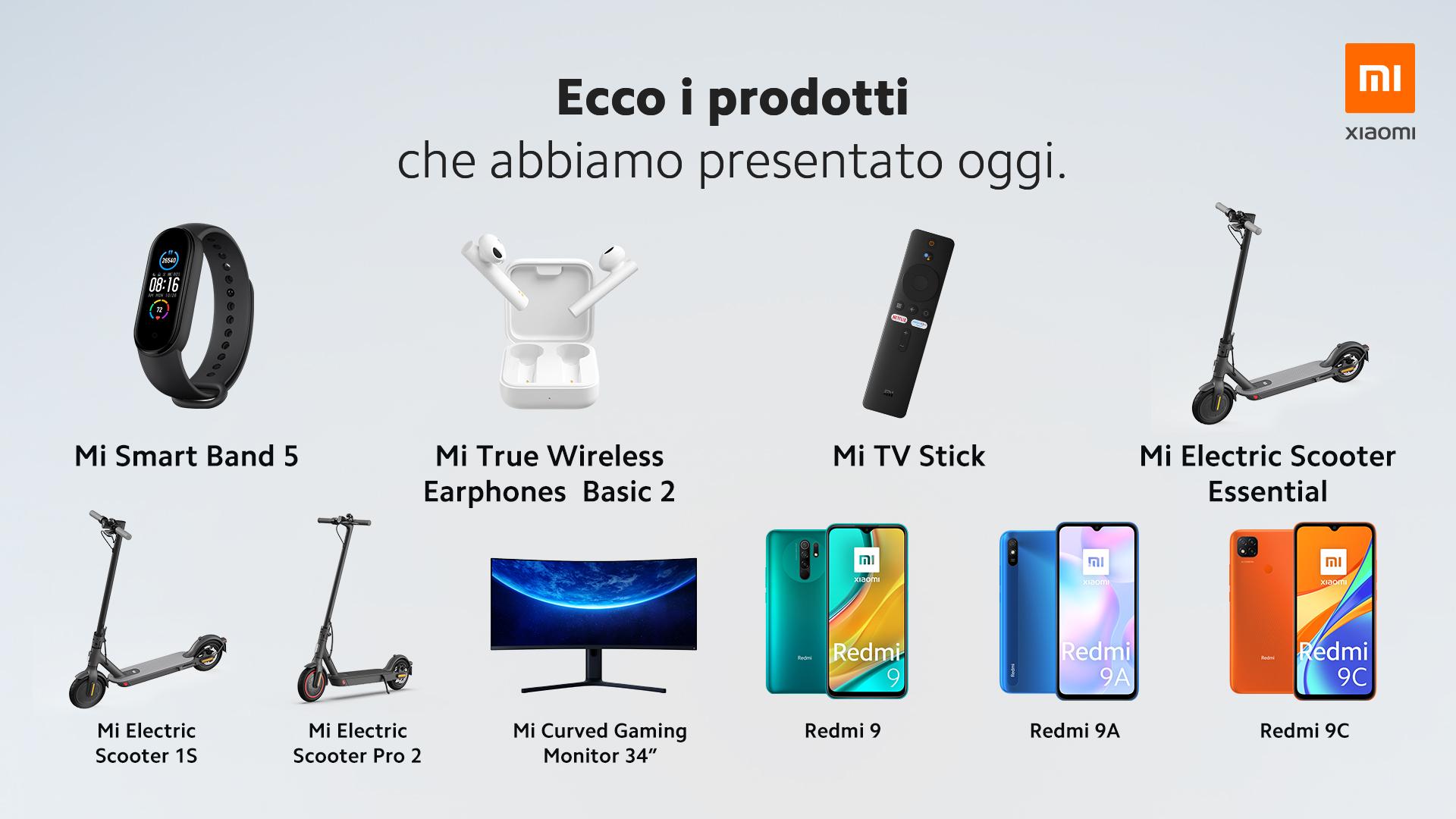 Xiaomi: nuovi prodotti sul mercato globale