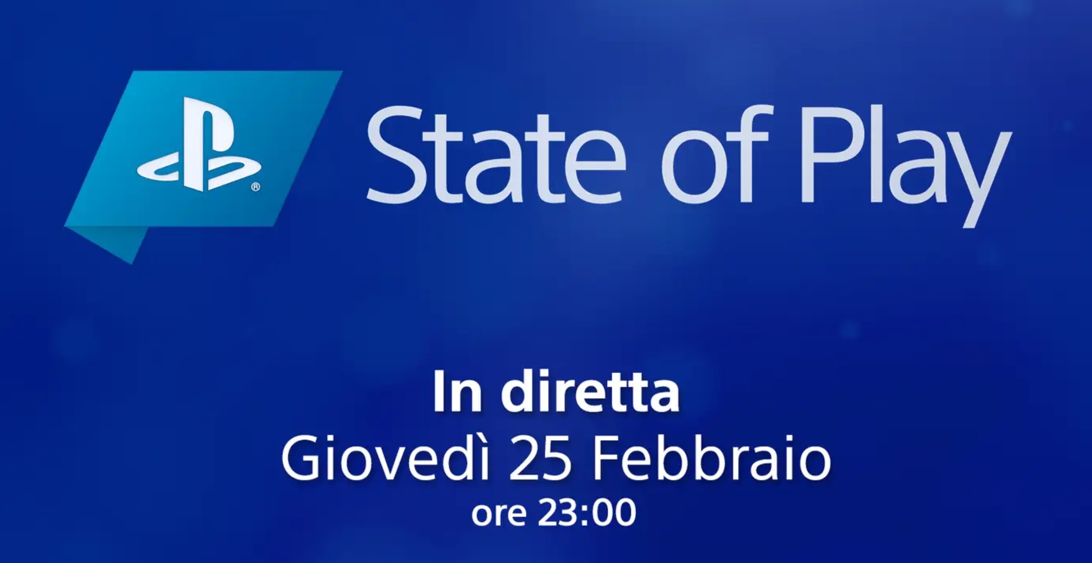 State of Play questo giovedì 25 di febbraio