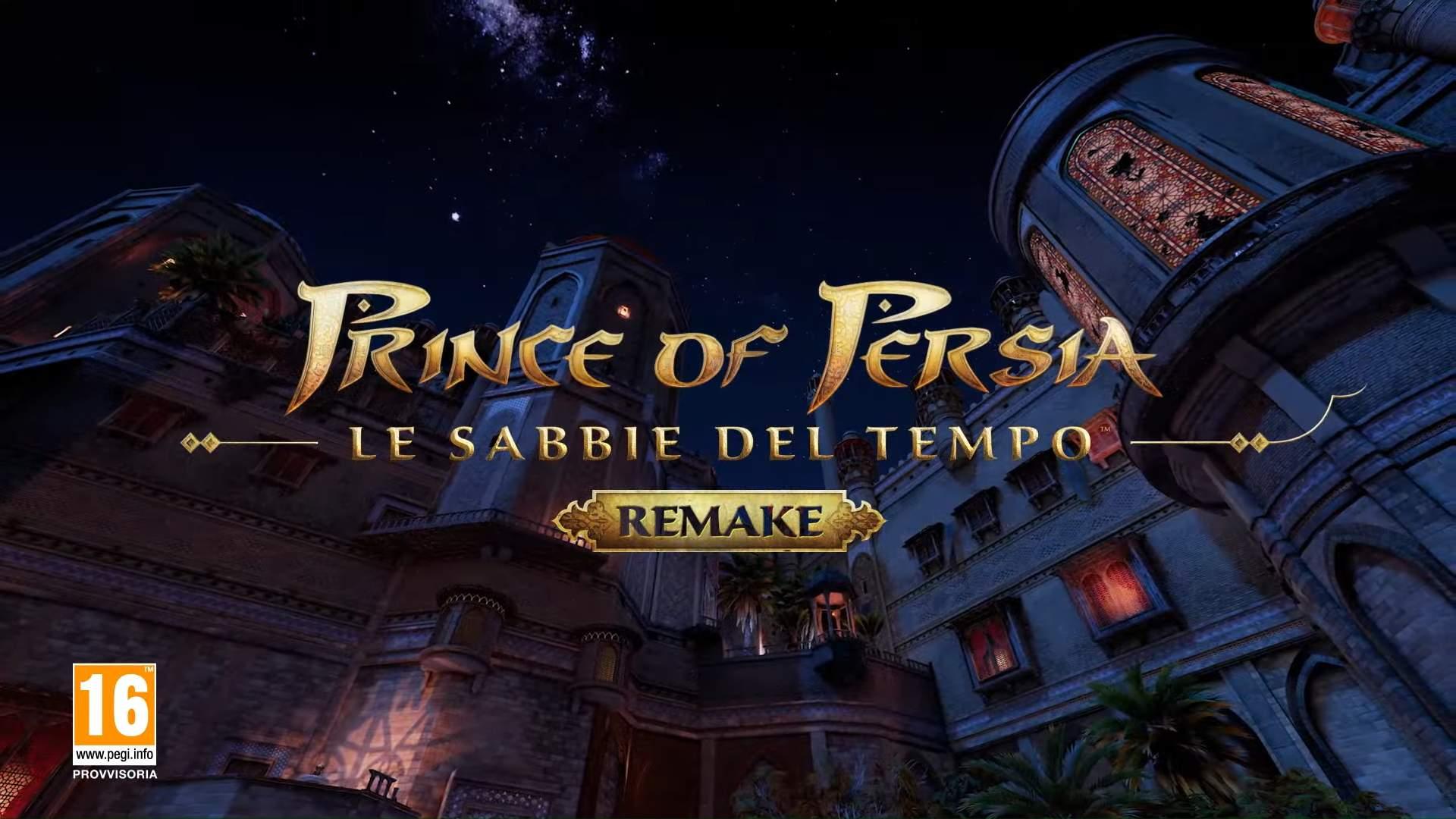 Ritorna Prince of Persia: Le Sabbie del Tempo Remake