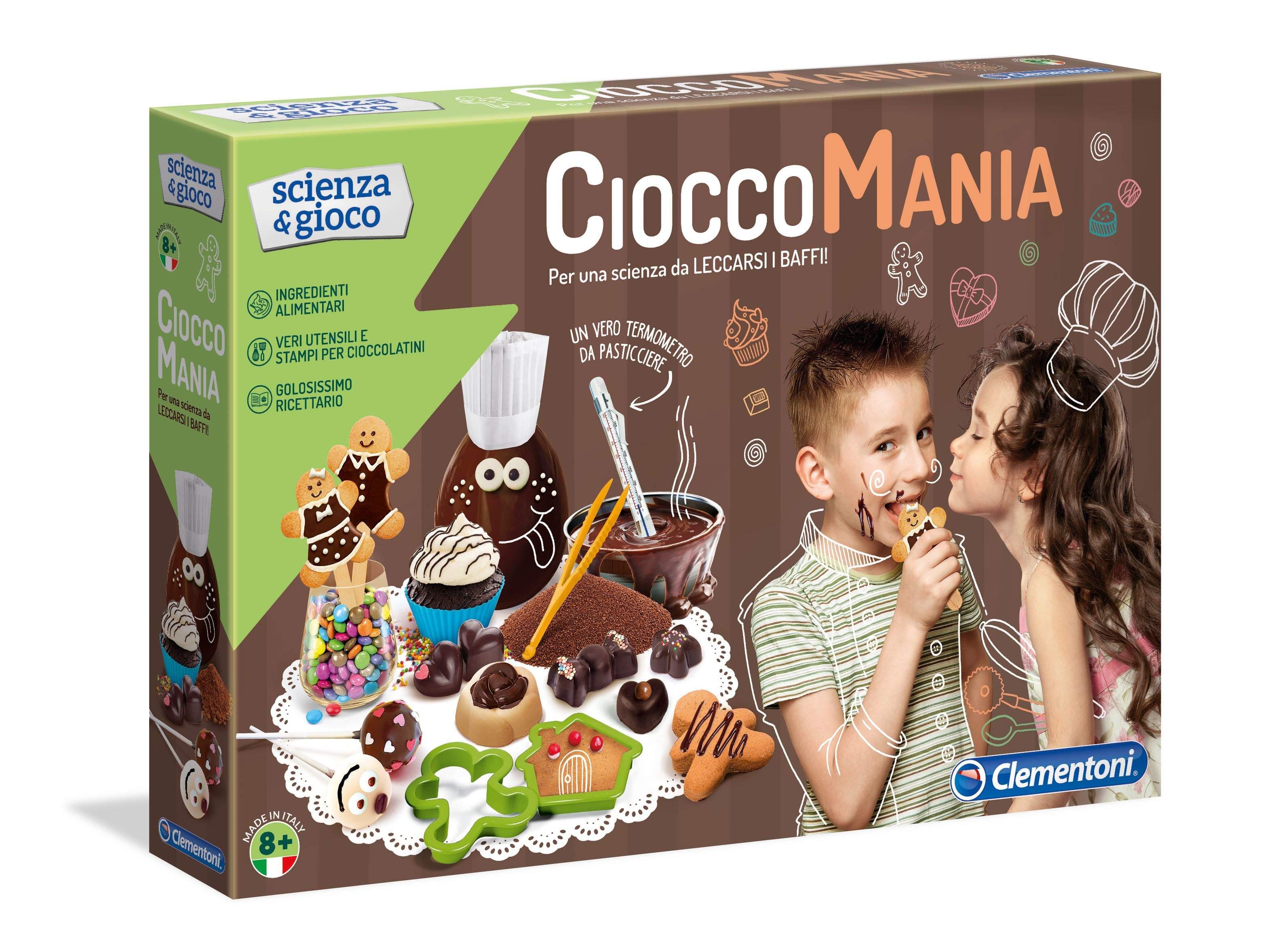 Clementoni presenta Cioccomania: per uova di pasqua creative