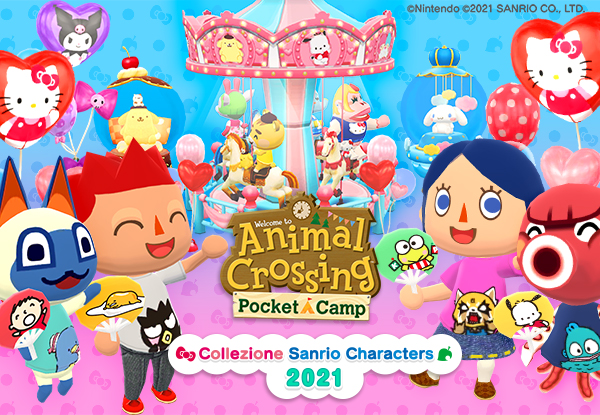 Nintendo - collaborazione Animal Crossing e Sanrio