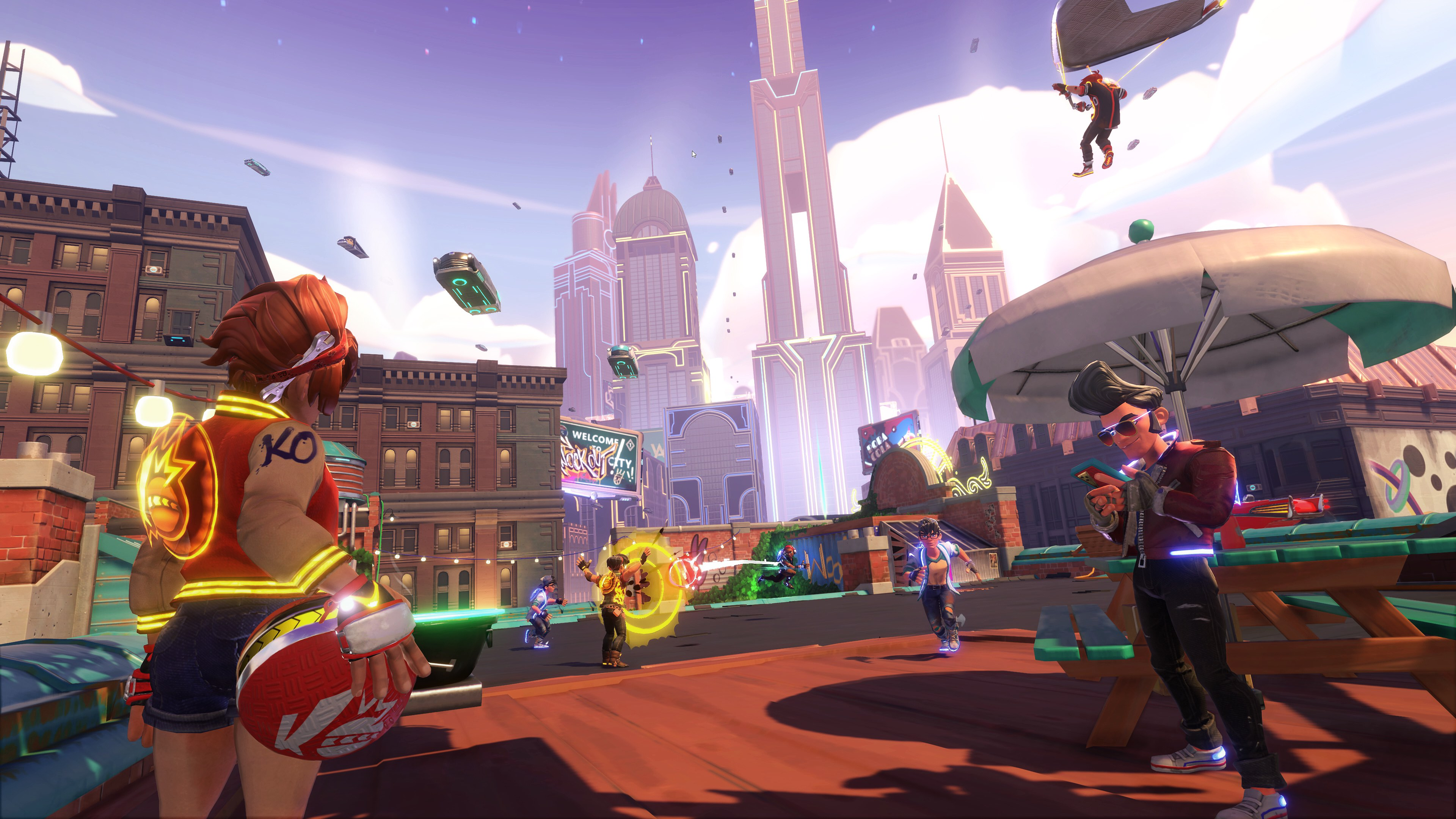 Knockout City: Beta cross-play e nuovo trailer