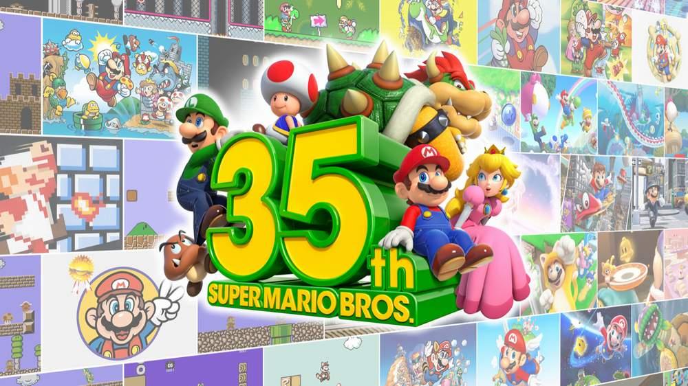 Nintendo per il 35° anniversario di Super Mario presenta giochi e prodotti