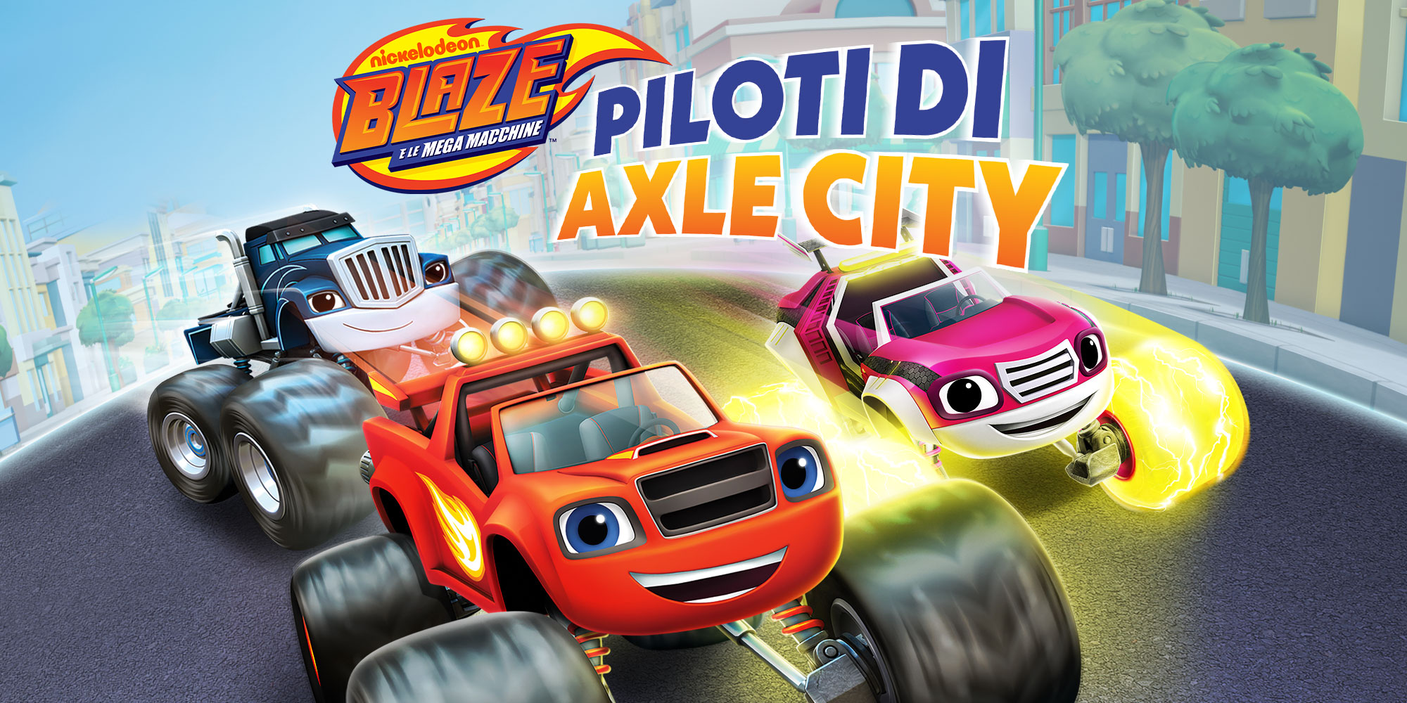 Blaze e le mega macchine: Piloti di Axle City disponibile su Console, Stadia e PC