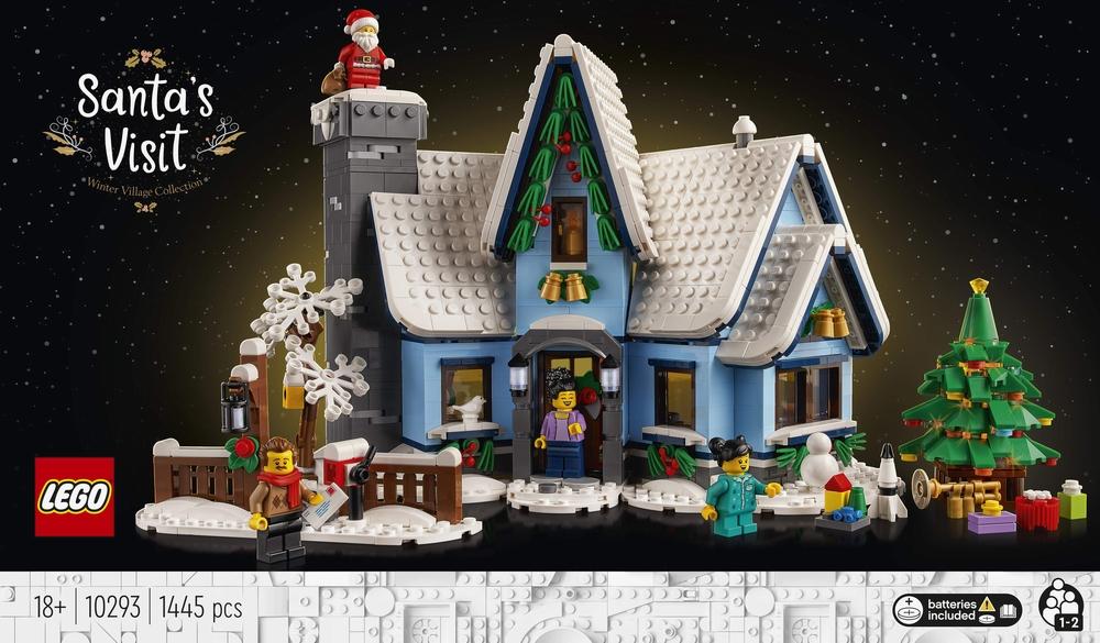 LEGO guarda al natale con il nuovo set La Visita di Babbo Natale