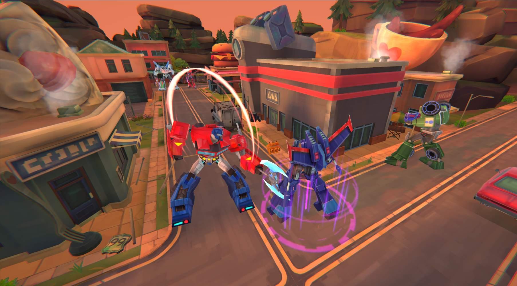 Transformers: Battlegrounds disponibile per console e pc