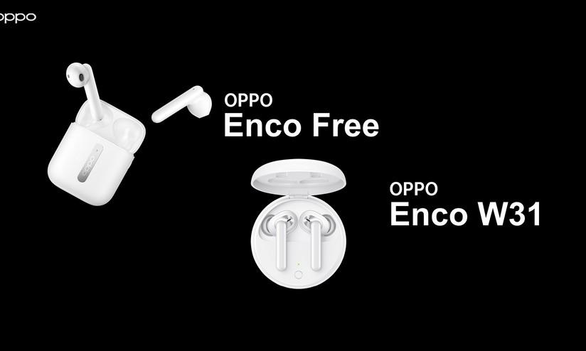 OPPO lancia le cuffie Enco Free ed Enco W31 e sette nuovi smartphone