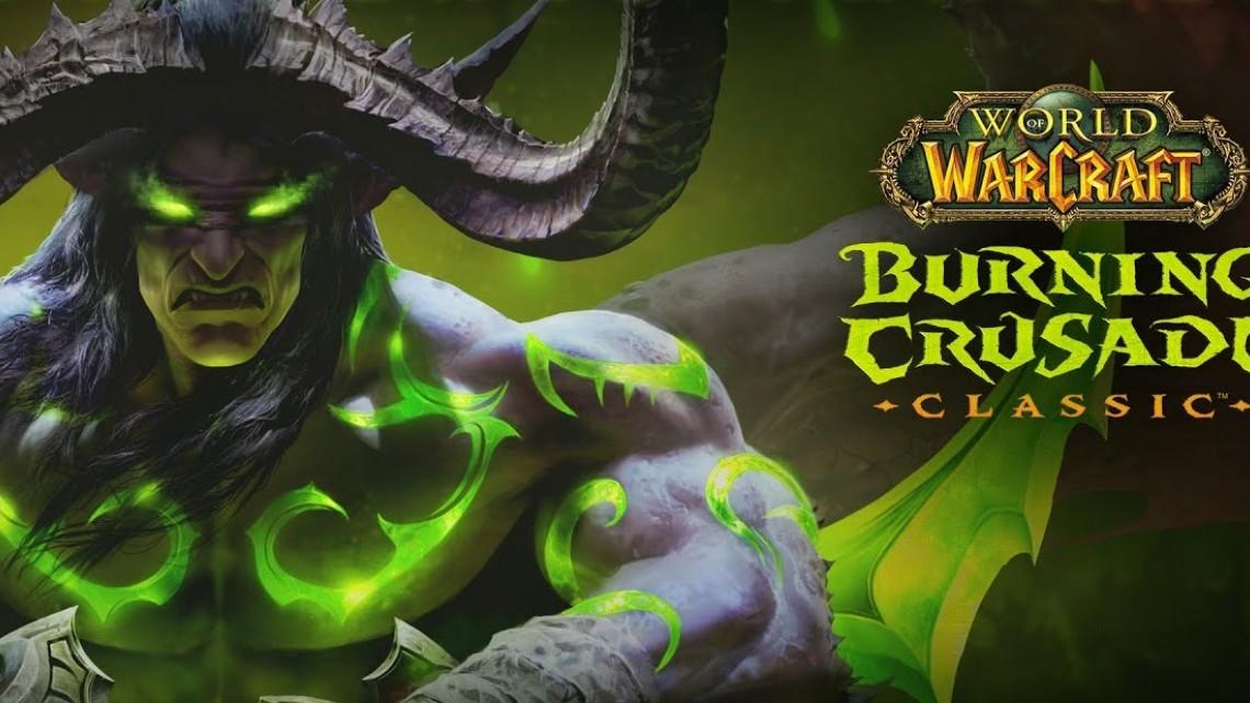 World of Warcraft: Burning Crusade Classic disponibile