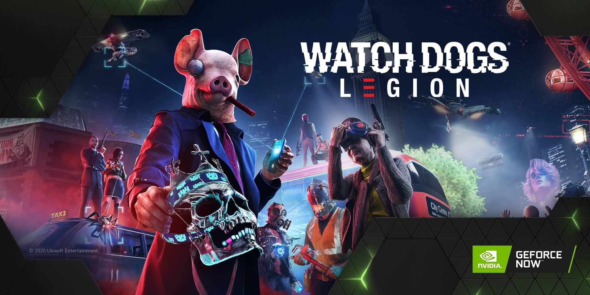 Watch Dogs: Legion ? Game Ready su GeForce NOW
