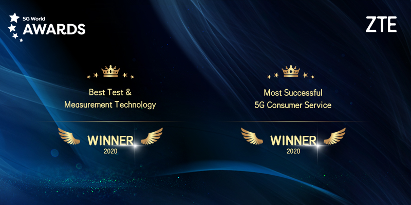 ZTE vince il premio 5G World 2020
