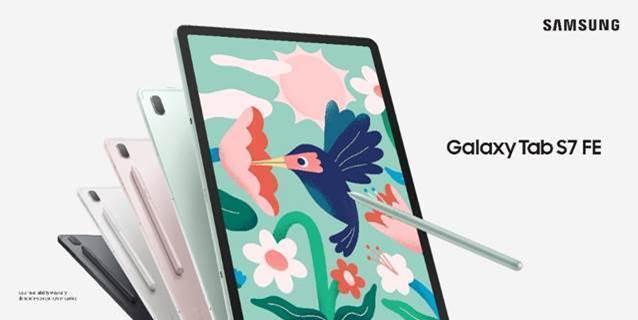 Samsung presenta Galaxy Tab S7 FE e Galaxy Tab A7 Lite