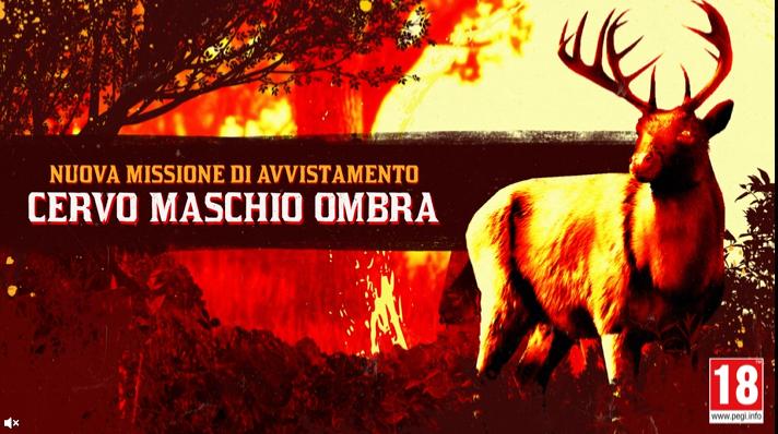 Red Dead Online:  IL MISTERIOSO CERVO MASCHIO OMBRA