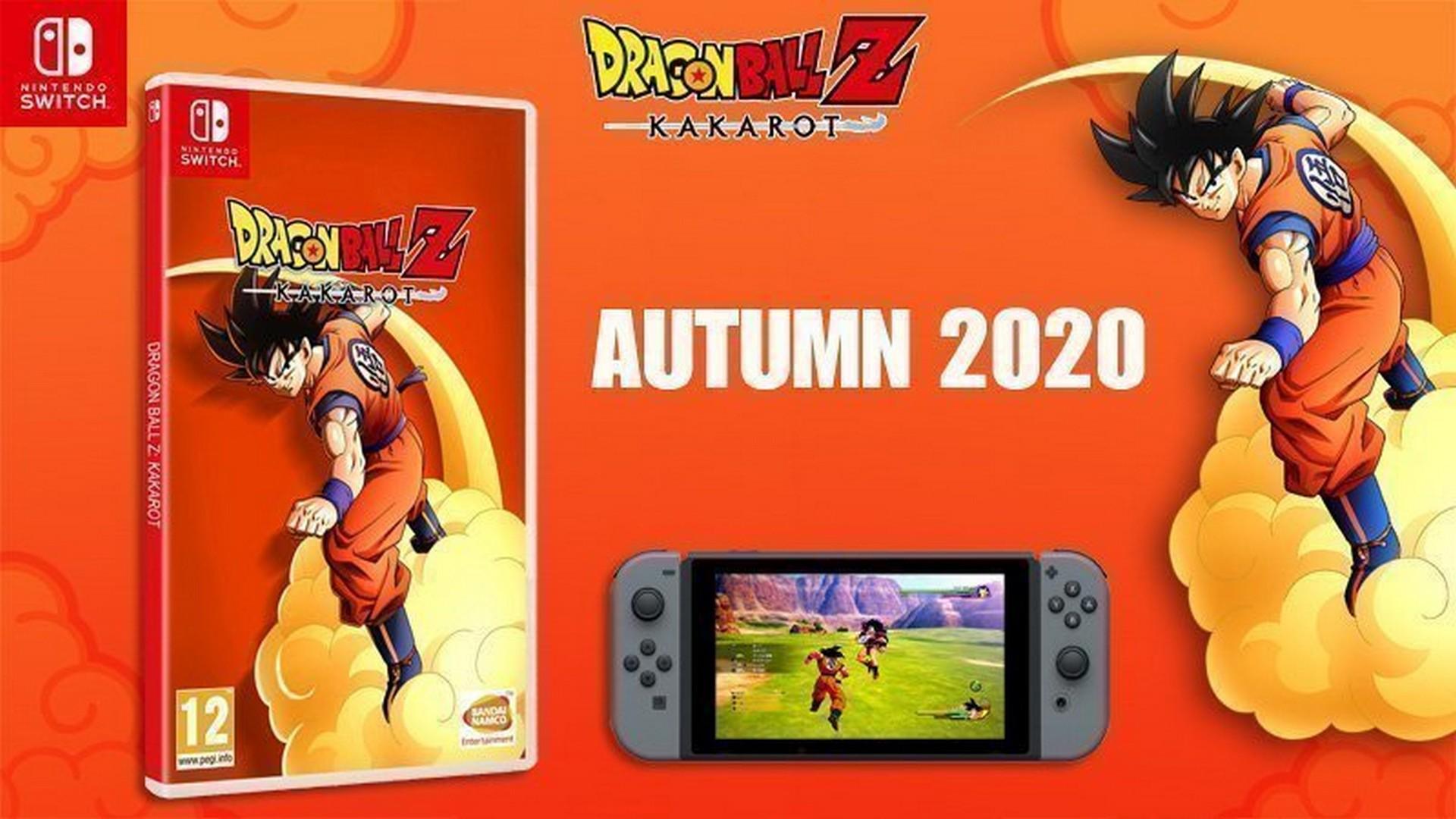 DRAGON BALL Z: KAKAROT arriva a settembre su NINTENDO Switch