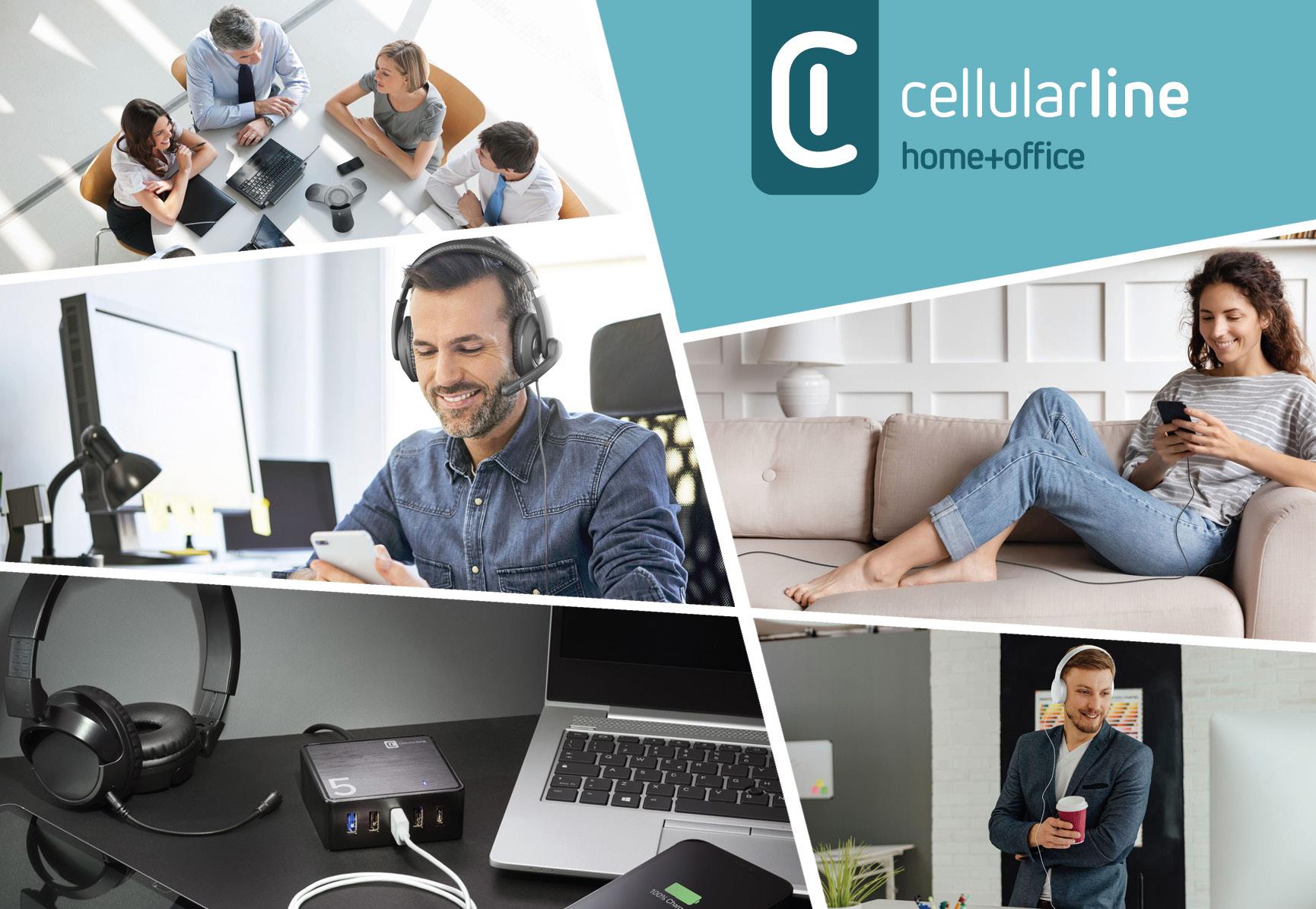 Cellularline lancia nuovi prodotti per lavoro casa e ufficio