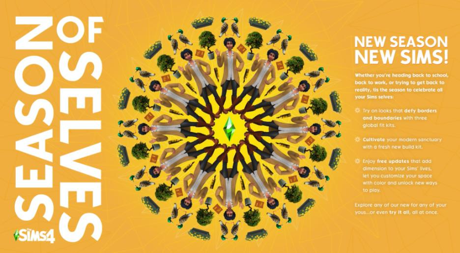 The Sims 4 | rivelate la Roadmap, i Kit e il Season of Selves