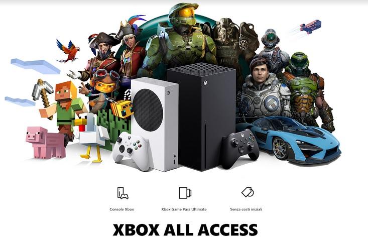 Arriva in Italia Xbox All Access, all-inclusive