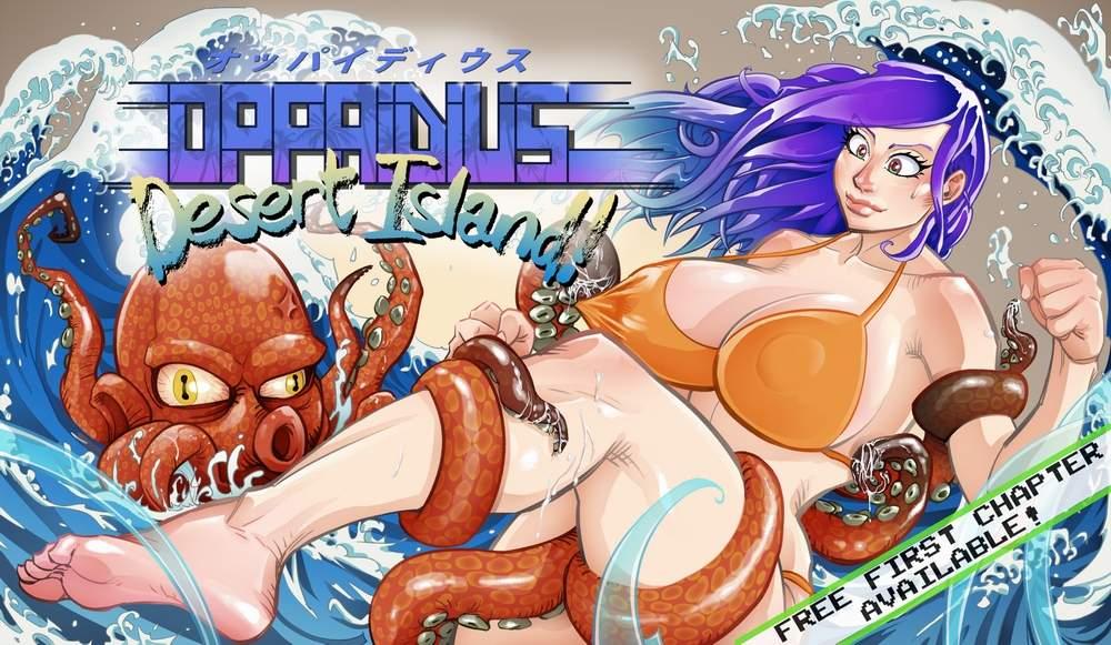 Oppaidius Desert Island!, vola su Kickstarter