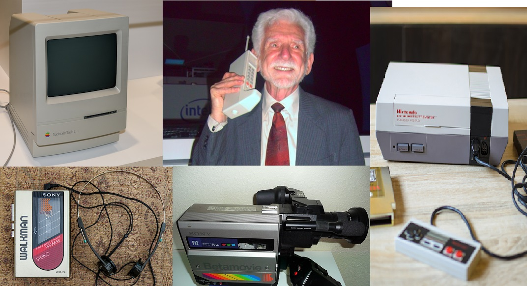Le invenzioni tecnologiche degli anni