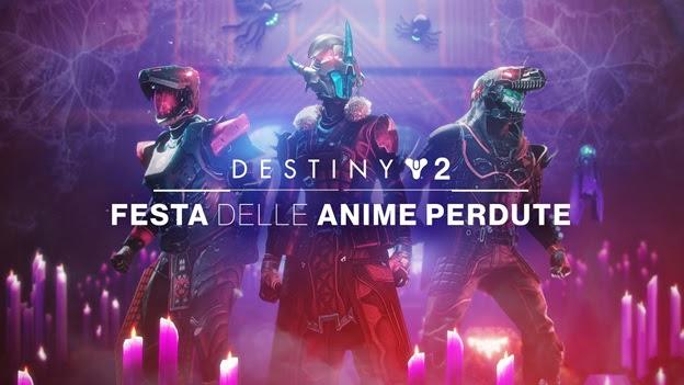 Destiny 2 - La Festa delle Anime Perdute torna gratis