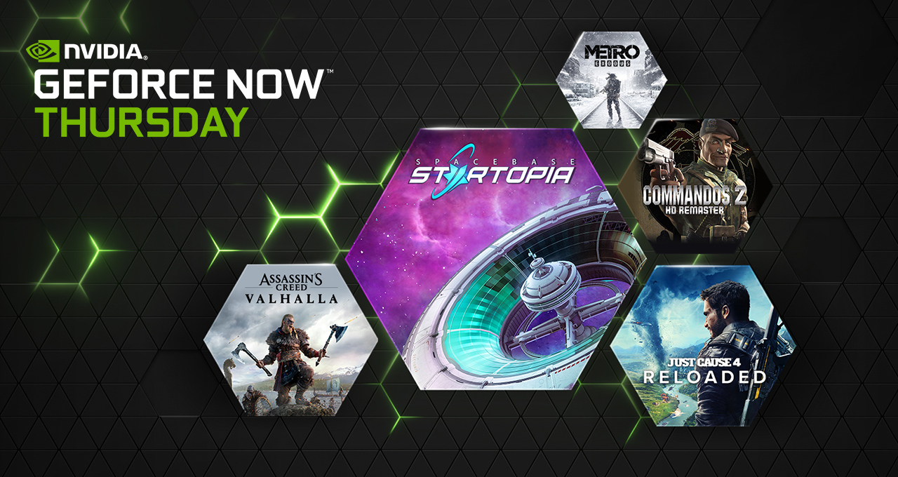 GeForce NOW: un giovedì On Sale