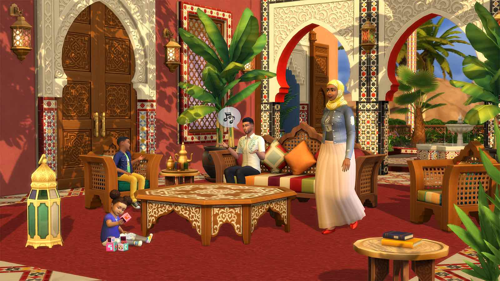 The Sims 4 annuncia Oasi in Giardino Kit