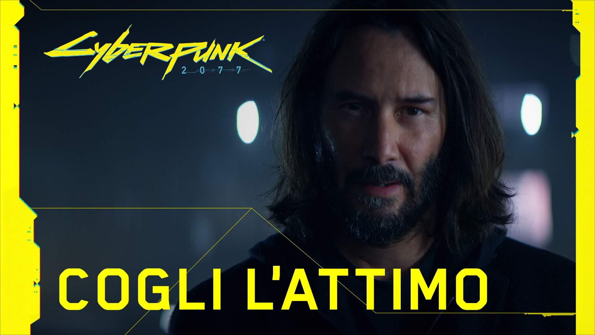 Cyberpunk 2077: spot con Keanu Reeves
