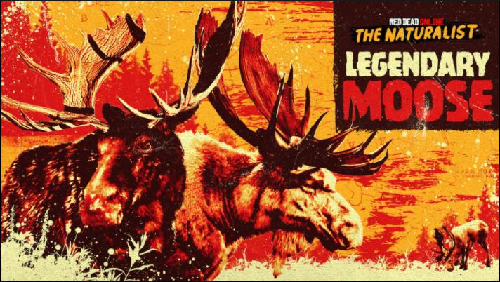 Red Dead Online: avvistati 2 Alci Leggendari
