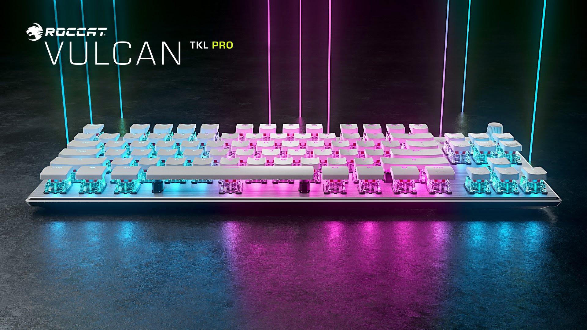 Vulcan TKL PRO White -  la Tastiera Gaming di ROCCAT