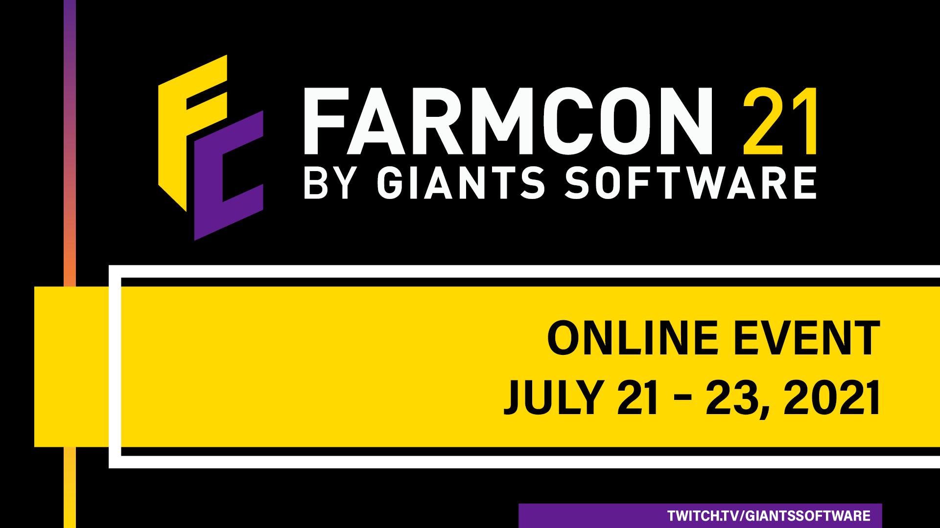 GIANTS Software presenterà Farming Simulator 22 al FarmCon 21