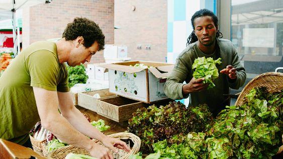 Verdure a foglia verde: classificazione, benefici ed effetti