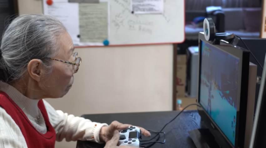 La nonnina di 90 anni che sfida il mondo a giocare su You Tube