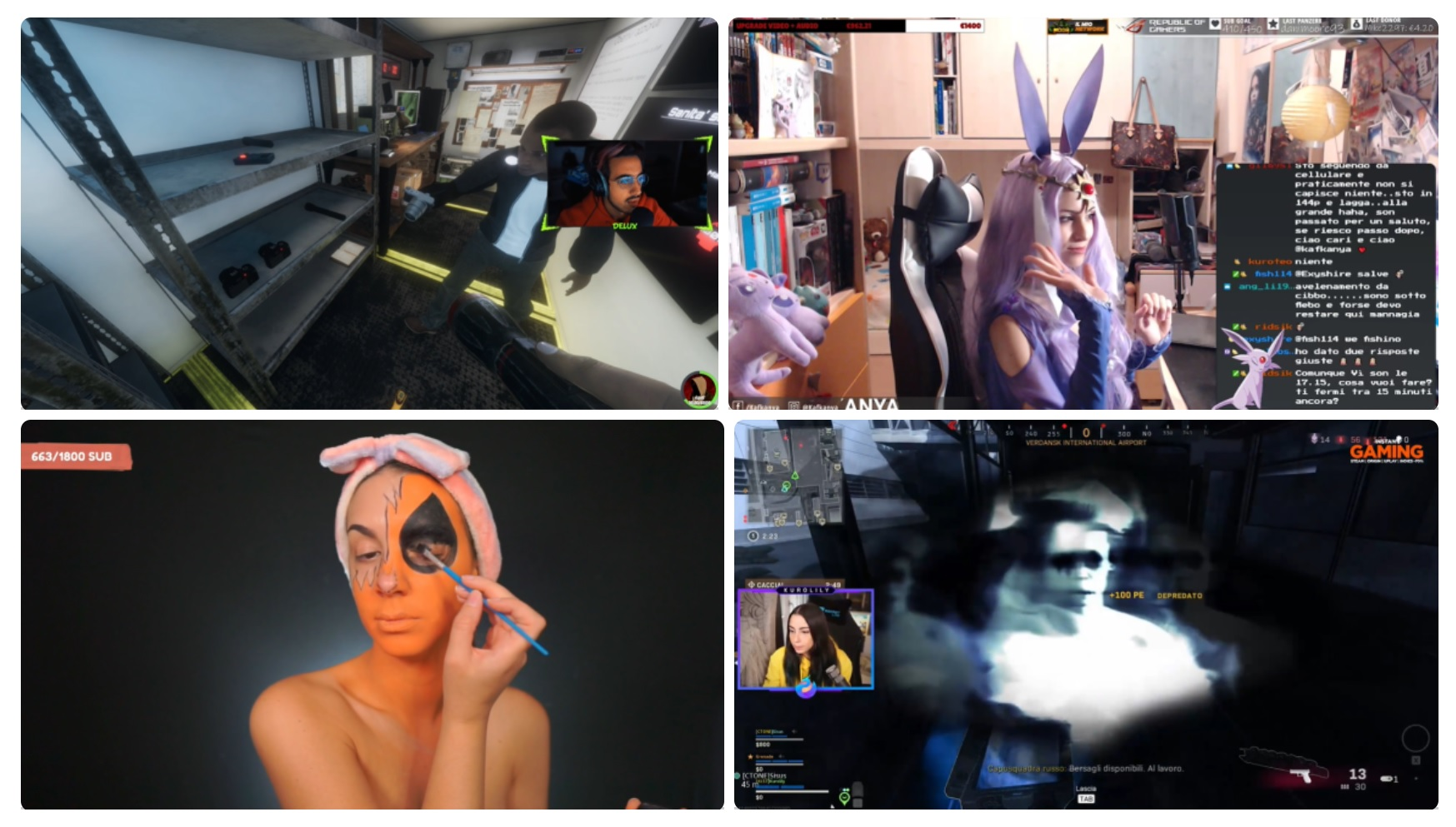 Twitch: i canali da seguire per Halloween