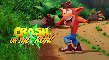 Crash Bandicoot: On the Run arriva su iOS e Android il 25 marzo