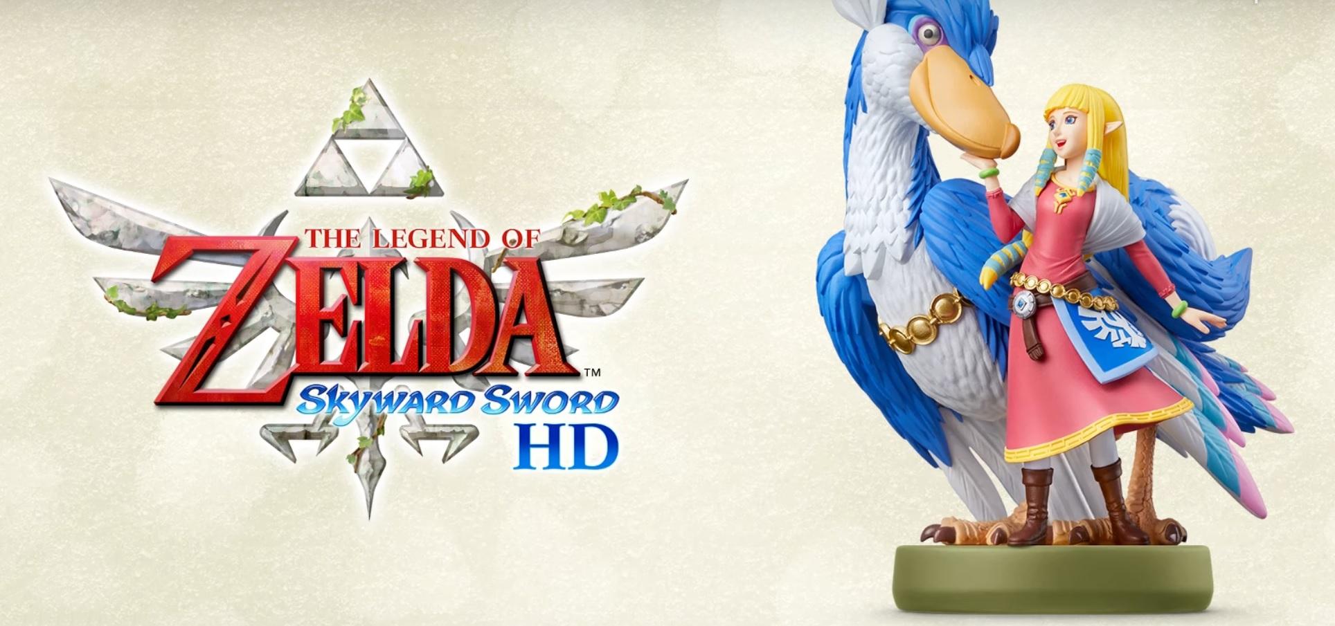Nuovo trailer e amiibo per The Legend of Zelda: Skyward Sword